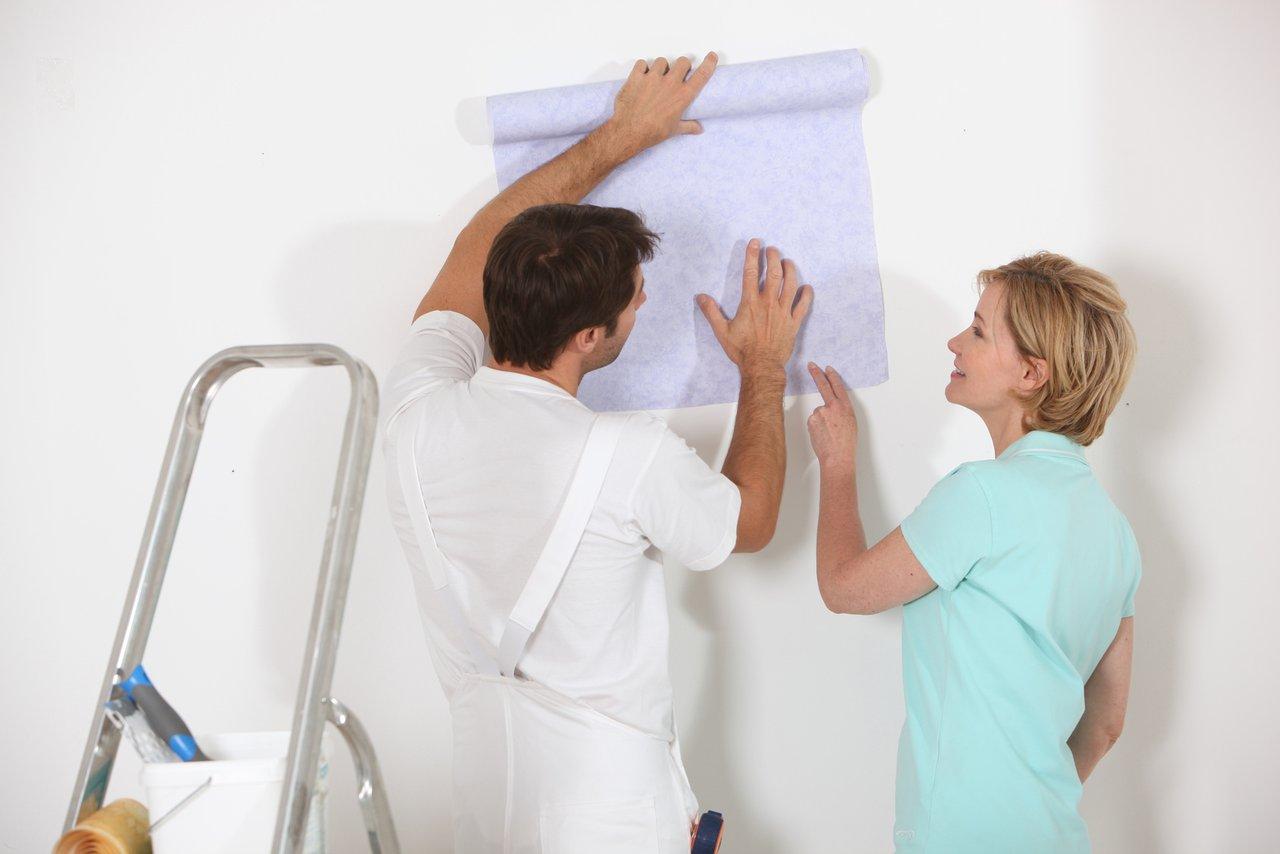 gro e tapetenauswahl es muss nicht immer raufaser sein maler vogelmann. Black Bedroom Furniture Sets. Home Design Ideas